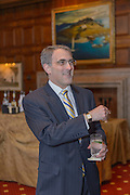 Former Delaware Gov. Michael N. Castle recieves the The Pete du Pont  Freedom Award at The Hotel duPont, in Wilmington, De, Thursday 19 May 2016. Photograph by Jim Graham