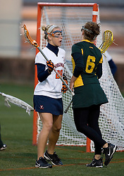 Virginia Cavaliers A Megan O'Malley (28) in action against W&M.  The Virginia Cavaliers Women's Lacrosse team hosted the William and Mary Tribe at Kl?ckner Stadium in Charlottesville, VA on March 21, 2007.
