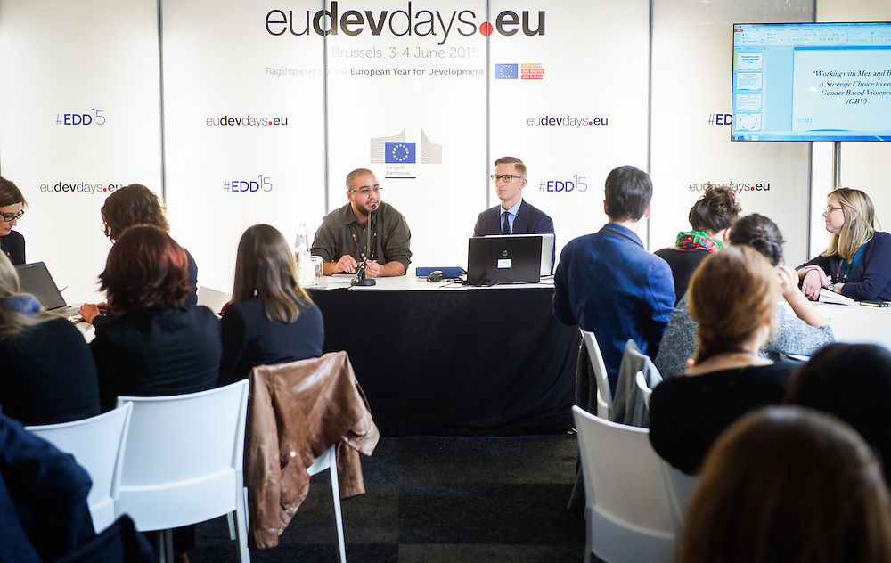 03 June 2015 - Belgium - Brussels - European Development Days - EDD - Gender - Gender equality - Exploring innovative ways to engage boys and young men in shifting social norms © European Union