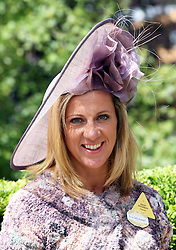 Sally Gunnell at the opening day of Royal Ascot, Tuesday, 19th June 2012  Photo by: Stephen Lock / i-Images