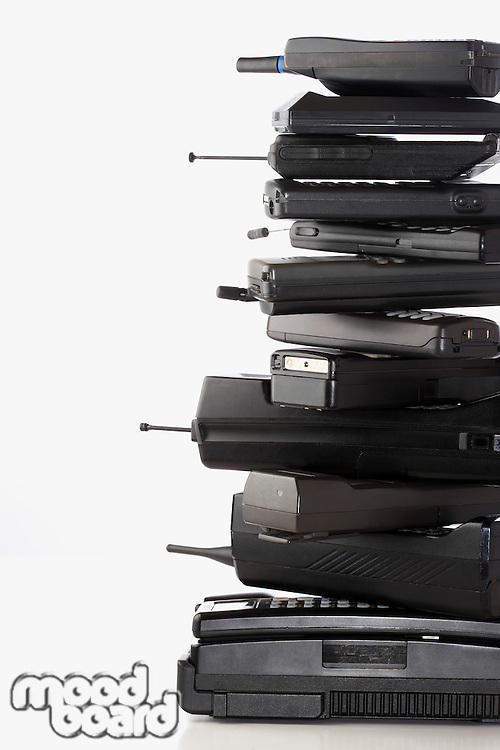 Pile of wireless phones