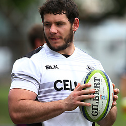 DURBAN, SOUTH AFRICA, 28 January 2016 -  Marcell Coetzee during The Cell C Sharks Pre Season training for the 2016 Super Rugby Season at Growthpoint Kings Park in Durban, South Africa. (Photo by Steve Haag)<br /> images for social media must have consent from Steve Haag