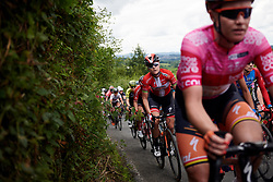 Amalie Dideriksen (DEN) on the Bethlehem Hill climb during Stage 6 of 2019 OVO Women's Tour, a 125.9 km road race from Carmarthen to Pembrey, United Kingdom on June 15, 2019. Photo by Sean Robinson/velofocus.com