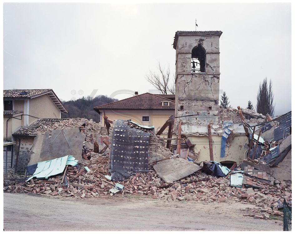 Santo Antonio's Church completly destroyed by the eartquake