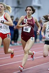 1000, BC, Erica Hefnawy<br /> Boston University Athletics<br /> Hemery Invitational Indoor Track & Field