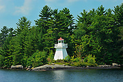 Lighthouse on Lake Muskoka<br /> Muskoka Country<br /> Ontario<br /> Canada