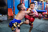 Thai Kids Aspire to be Boxers