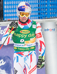 Alexis Pinturault (FRA) celebrates during 2nd Run of 10th Men's Giant Slalom race of FIS Alpine Ski World Cup 55th Vitranc Cup 2016, on March 5, 2016 in Kranjska Gora, Slovenia. Photo by Vid Ponikvar / Sportida