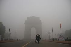 Smoggy Morning In New Delhi, 3 Nov. 2016