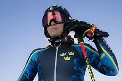 26.10.2018, Rettenbachferner, Soelden, AUT, FIS Weltcup Ski Alpin, Soelden, Training, im Bild Sara Hector (SWE) // Sara Hector of Sweden during a practice session prior to the FIS Ski Alpine Worldcup opening at the Rettenbachferner in Soelden, Austria on 2018/10/26. EXPA Pictures © 2018, PhotoCredit: EXPA/ Johann Groder