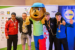 Athletes  during Award ceremony at Day 4 of 15th Slovenia Open - Thermana Lasko 2018 Table Tennis for the Disabled, on May 12, 2018, in Dvorana Tri Lilije, Lasko, Slovenia. Photo by Vid Ponikvar / Sportida