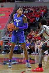 NORMAL, IL - November 06:  Troy Baxter Jr during a college basketball game between the ISU Redbirds  and the Florida Gulf Coast Eagles on November 06 2018 at Redbird Arena in Normal, IL. (Photo by Alan Look)