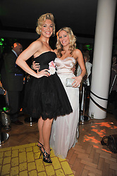 Left to right, HANNAH WADDINGHAM and EMILY TIERNEY  at the press night of the new Andrew Lloyd Webber  musical 'The Wizard of Oz' at The London Palladium, Argylle Street, London on 1st March 2011 followed by an aftershow party at One Marylebone, London NW1
