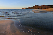 Otter Creek and Lake Michigan meet ~ Esch Road Beach<br />
