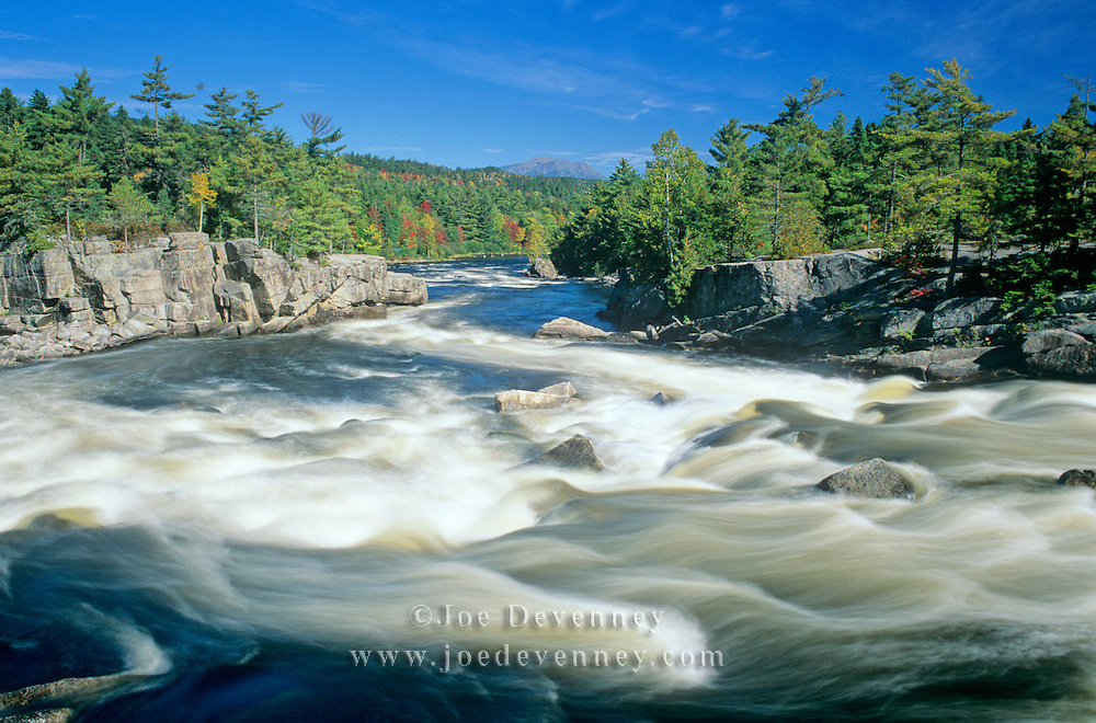 The Cribworks on the Penobscot River. Maine | Joe Devenney