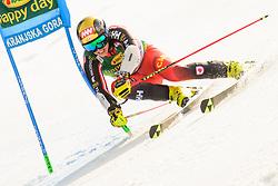 March 9, 2019 - Kranjska Gora, Kranjska Gora, Slovenia - Erik Read of Canada in action during Audi FIS Ski World Cup Vitranc on March 8, 2019 in Kranjska Gora, Slovenia. (Credit Image: © Rok Rakun/Pacific Press via ZUMA Wire)