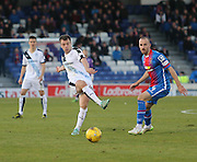 Dundee's Paul McGowan and Inverness' James Vincent - Inverness Caledonian Thistle v Dundee at Caledonian Stadium, Inverness<br /> <br />  - © David Young - www.davidyoungphoto.co.uk - email: davidyoungphoto@gmail.com