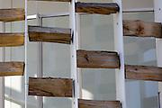Detail of the outer covering of the building of Uruguay pavilion at Expo 2015, Rho-pero Milan. &copy; Carlo Cerchioli<br /> <br /> Particolare del rivestimento esterno dell'edificio del padiglione dell'Uruguay all'Expo 2015, Rho-pero, Milano.