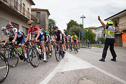 Alexis Ryan (USA) of CANYON//SRAM Racing leans into a corner during Stage 3 of the Giro Rosa - a 100 km road race, between San Fior and San Vendemiano on July 2, 2017, in Treviso, Italy. (Photo by Balint Hamvas/Velofocus.com)