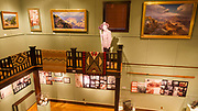 Interior displays at Kolb Studio, Grand Canyon National Park, Arizona USA