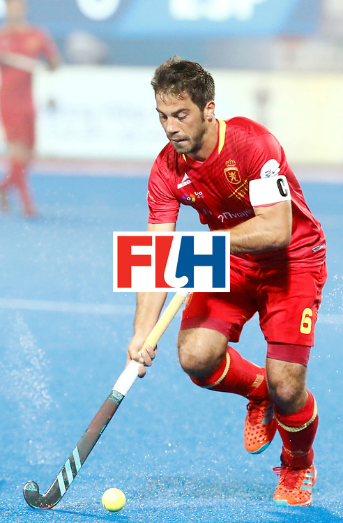 Odisha Men's Hockey World League Final Bhubaneswar 2017<br /> Match id:11<br /> Argentina v Spain<br /> Foto: Miguel Delas (Esp) <br /> COPYRIGHT WORLDSPORTPICS KOEN SUYK