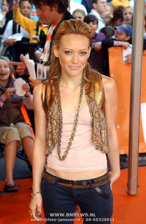 NLD/Rotterdam/20051015 - Kid's Choice Awards 2005, Hillary Duff