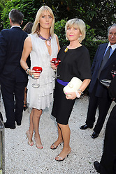 Left to right, LADY EMILY COMPTON and her mother ROSIE, MARCHIONESS OF NORTHAMPTON at the Tatler Summer Party, The Hempel Hotel, 31-35 Craven Hill Gardens, London W2 on 25th June 2008.<br />