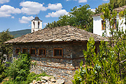 Church with a stone roof in Kovachevitsa