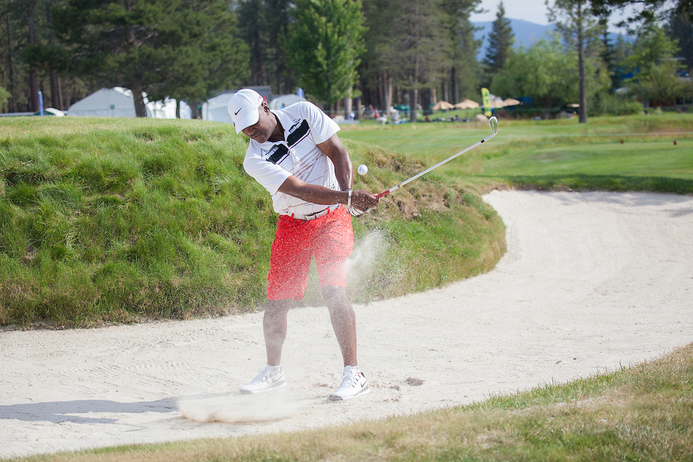 Joe Carter (MLB Hall of Fame).  Golf Channel/The Workshop (Lake Tahoe Celebrity Golf Tournament)