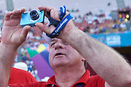SO Polish Team while Closing Ceremony of the Special Olympics World Games Los Angeles 2015 at the Los Angeles Coliseum Stadium on ninth day, August 2, 2015 in Los Angeles, USA.<br /> <br /> USA, Los Angeles, August 2, 2015<br /> <br /> Picture also available in RAW (NEF) or TIFF format on special request.<br /> <br /> For editorial use only. Any commercial or promotional use requires permission.<br /> <br /> Adam Nurkiewicz declares that he has no rights to the image of people at the photographs of his authorship.<br /> <br /> Mandatory credit:<br /> Photo by © Adam Nurkiewicz / Mediasport