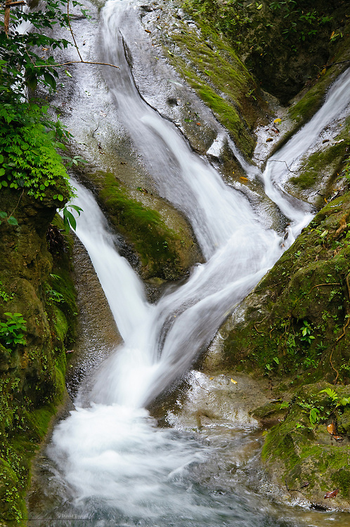 Waterfalls at Erawan National Park, Kanchanaburi Province, Thailand