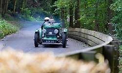 Boness Revival hillclimb motorsport event in Boness, Scotland, UK. The 2019 Bo'ness Revival Classic and Hillclimb, Scotland's first purpose-built motorsport venue, it marked 60 years since double Formula 1 World Champion Jim Clark competed here.  It took place Saturday 31 August and Sunday 1 September 2019. 712 Alvis 12/70 Special