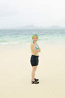 Woman ready for snorkeling in Southern Thailand&#xA;<br />