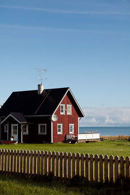 Swedish style buildings near the Poosaspea Peninsula