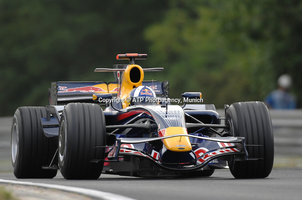 David COULTHARD - Red Bull Racing - F1 Grand Prix Qualifying, Hungary. 02 August 2008. Photo: ATP/PHOTOSPORT