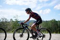 Hannah Barnes (GBR) during Ladies Tour of Norway 2019 - Stage 4, a 154 km road race from Svinesund to Halden, Norway on August 25, 2019. Photo by Sean Robinson/velofocus.com