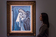 PABLO PICASSO, TÊTE DE FEMME, £5,000,000 — 7,000,000 - Highlights From London's Flagship Sales of Impressionist, Modern, Surrealist & Contemporary Art at Sotheby's London.
