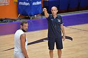 Ettore Messina<br /> Nazionale Italiana Maschile Senior<br /> Allenamento<br /> FIP 2017<br /> Tel Aviv, 29/08/2017<br /> Foto Ciamillo - Castoria/ Michele Longo