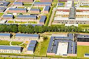 Nederland, Drenthe, Ter Apel, 08-09-2016; overzicht Asielzoekerscentrum AZC Ter Apel.   <br /> Overview Asielzoekerscentrum AZC Ter Apel <br /> luchtfoto (toeslag op standard tarieven);<br /> aerial photo (additional fee required);<br /> copyright foto/photo Siebe Swart