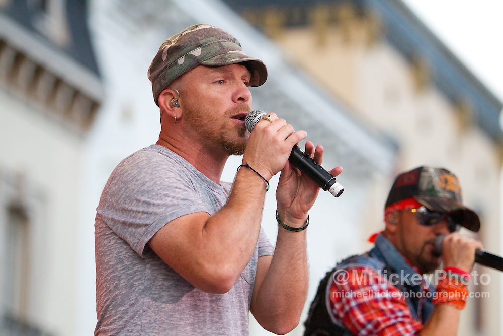 LoCash Cowboys performs at the Haynes-Apperson Festival in Kokomo, Indiana on July 1, 2011..Photo by Michael Hickey