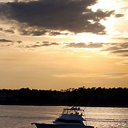 "The Patterson's boat ""Number Two"" in the ICW and out on the ocean near Wrightsville Beach...Photo by Logan Mock-Bunting"