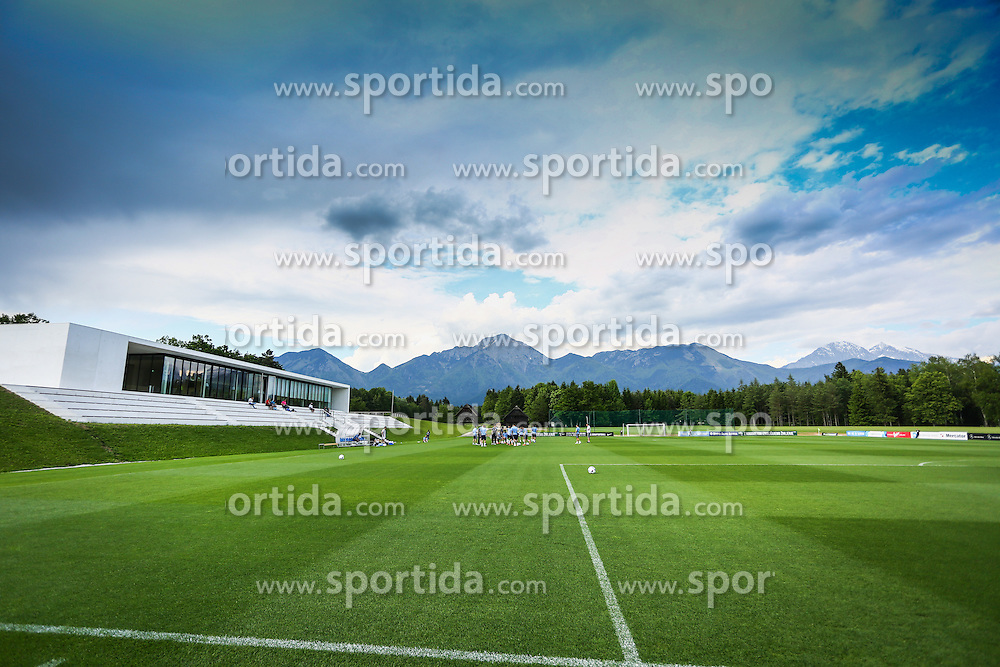 Football centre during practice session of Slovenian Football Team practice session of Slovenian National Team before game against Sweden, on May 26, 2016 in Football centre Brdo pri Kranju, Slovenia. Photo by Ziga Zupan / Sportida