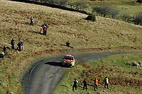 MOTORSPORT - WORLD RALLY CHAMPIONSHIP 2010 - WALES RALLY GB / RALLYE DE GRANDE-BRETAGNE - CARDIFF (GBR) - 11 TO 14/11/2010 - PHOTO : FRANCOIS BAUDIN / DPPI - <br /> PETTER SOLBERG (NOR) / CHRIS PATTERSON (GBR) - CITROËN C4 WRC - PETTER SOLBERG WORLD RALLY TEAM - ACTION