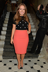 TANYA BURR at the Lancôme pre BAFTA party held at The London Edition, 10 Berners Street, London on 14th February 2014.