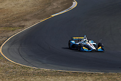 September 14, 2018 - Sonoma, California, United Stated - PATRICIO O'WARD (8) of Mexico takes to the track to practice for the Indycar Grand Prix of Sonoma at Sonoma Raceway in Sonoma, California. (Credit Image: © Justin R. Noe Asp Inc/ASP via ZUMA Wire)