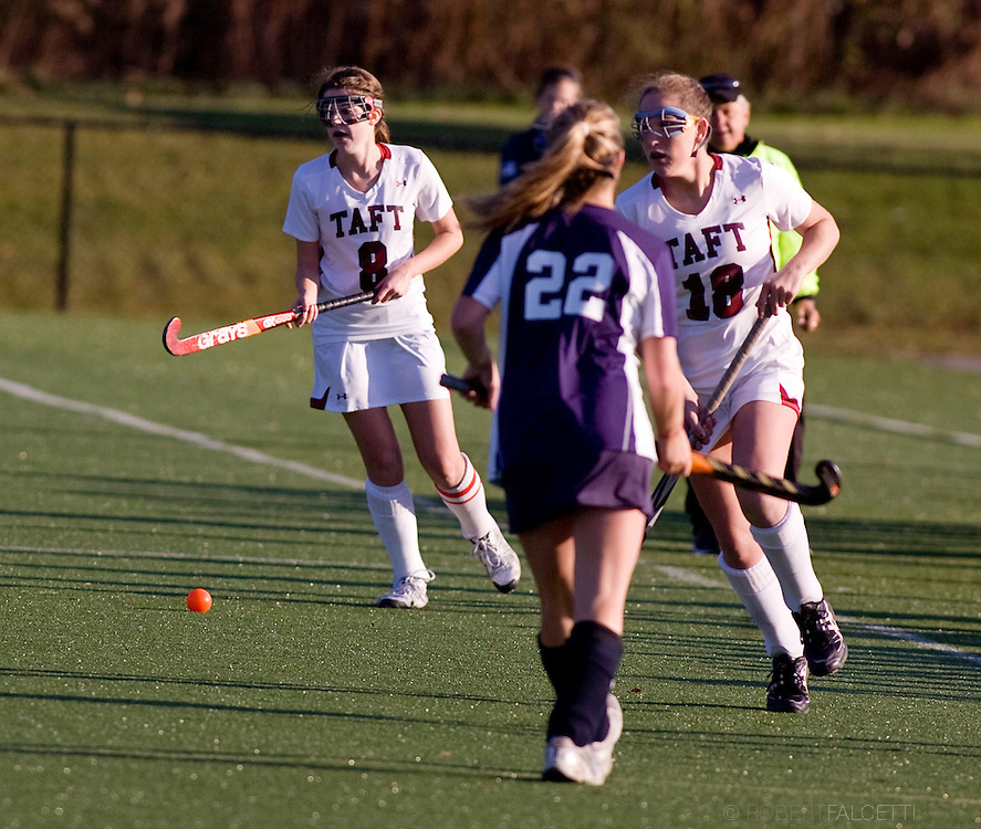 The Taft School, Watertown, CT. Nov 13, 2011. Field Hockey..(Photo by Robert Falcetti)..Admissions marketing & communications photography-New England Private Independent School-Alumni magazine photography  ... .