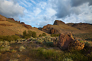 pikes creek landscape at the base of steens mountain