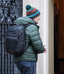 © Licensed to London News Pictures. 09/12/2019. London, UK. DOMINIC CUMMINGS, special adviser to the government of Boris Johnson, is seen arriving at 10 Downing Street in London, days ahead of a general election which is due to take place on Thursday. Photo credit: Ben Cawthra/LNP