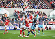Bristol City goalkeeper Richard O'Donnell (12) claims a corner during the Sky Bet Championship match between Bristol City and Sheffield Wednesday at Ashton Gate, Bristol, England on 9 April 2016. Photo by Adam Rivers.