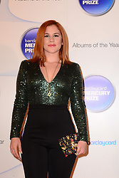 Mercury Prize. <br /> Katy B attends the Barclaycard Mercury Prize at The Roundhouse, London, United Kingdom. Wednesday, 30th October 2013. Picture by Nils Jorgensen / i-Images